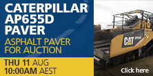 Caterpillar AP655D Paver
