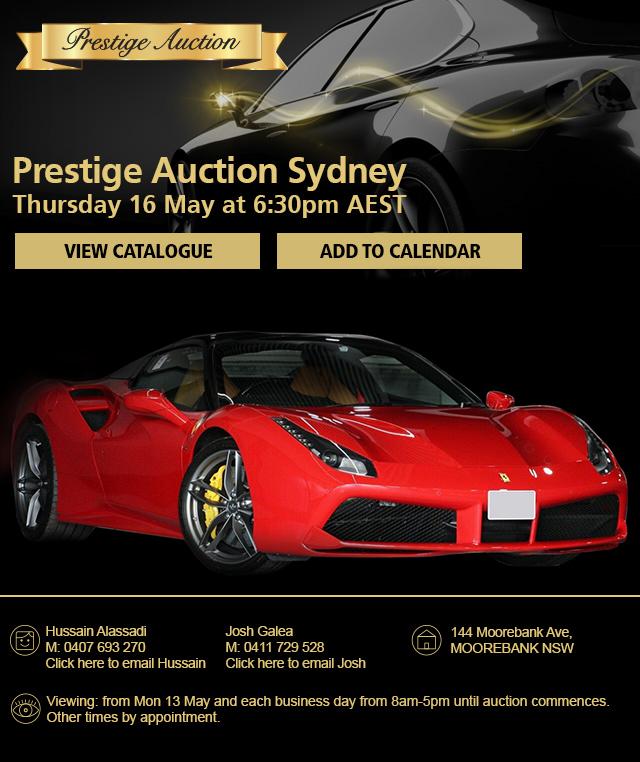 Prestige Auction Manheim Australia