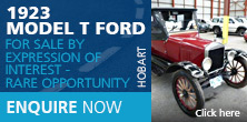 1923 Model T Ford – For Sale by Expression of Interest