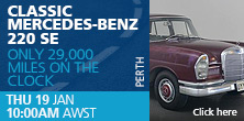 Classic Mercedes-Benz 220 SE