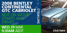 2008 BENTLEY CONTINENTAL GTC  CABRIOLET