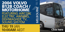 2004 Volvo B12B Coach/motorhome