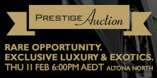 Melbourne Prestige Auction